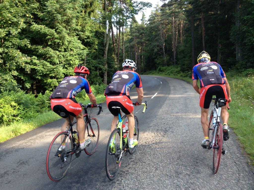 Route Forez Juillet 2014