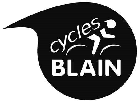 Logo blain noir